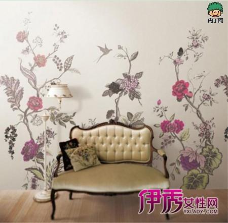 墙面手绘装饰画-悄然兴起的家具装修新理念