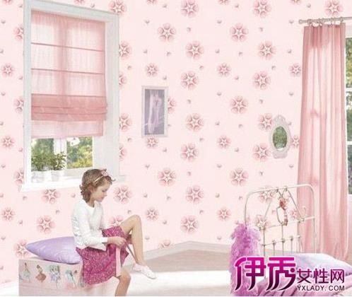 装修墙纸效果图:儿童房卡通花园系列墙纸,满铺墙壁纸的图能够为小孩