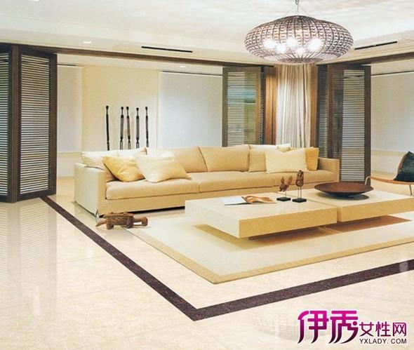 客厅地板砖设计图片展示