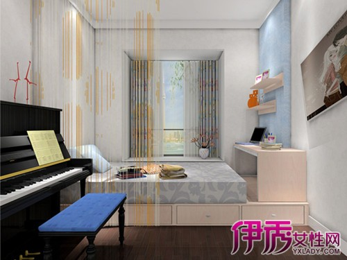 【图】榻榻米上的钢琴摆放效果图 现代简约风格造型设计