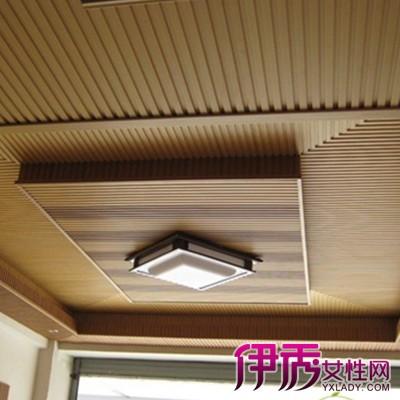 【图】客厅阳台生态木吊顶效果图欣赏