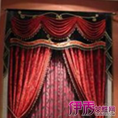 【酒红色西式窗帘】【图】盘点酒红色西式窗帘图片