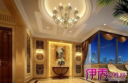 【图】家装过道玻璃吊顶效果图 走廊吊顶造型怎么做