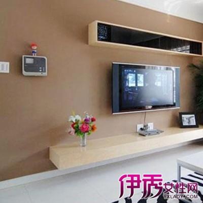 【图】观看壁挂电视柜效果图 根据家居情况合理购买