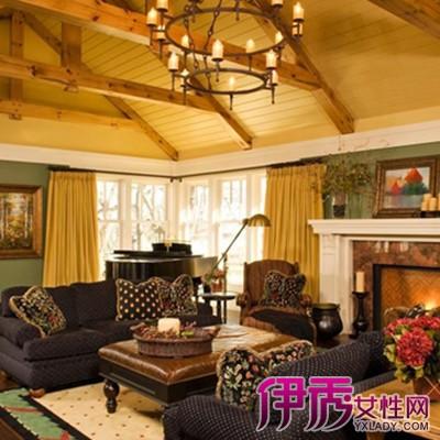 【图】观赏复古大厅装修效果图 了解大厅装修的技巧