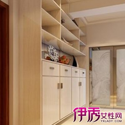 【图】玄关兼鞋柜效果图鉴赏 家居和风水的有机融合