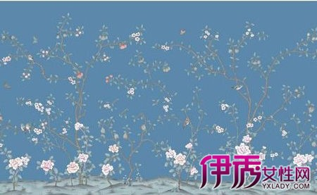 【蓝色田园碎花墙纸】【图】蓝色田园碎花墙纸大全