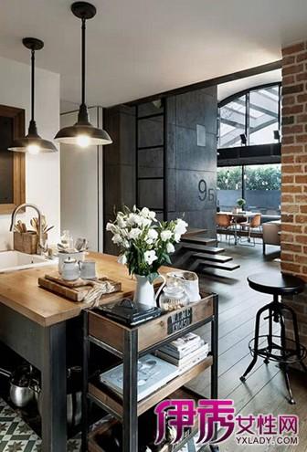 【图】新农村厨房装修效果图 开放式厨房成潮流