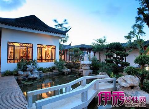 【图】新中式私家庭院景观