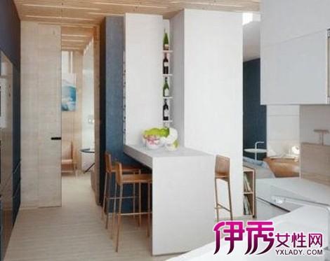 【图】厨房装修简装效果图 不规则设计打造个性厨房