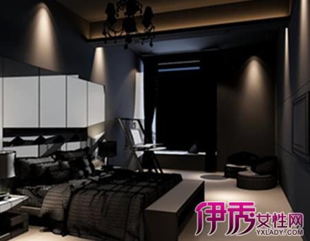 黑色卧室装修效果图欣赏 卧室颜色搭配禁忌