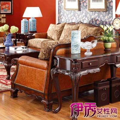 【图】欣赏实木美式沙发图片 领略美国异域风情