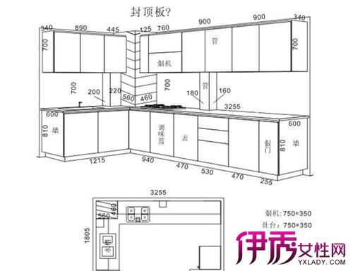 尺寸v尺寸标准图纸图解橱柜工程施工有软件哪些图片