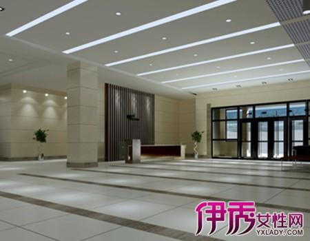 【图】私人办公门厅效果图欣赏 办公室装修门厅需要注意的事项