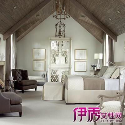 【图】品鉴欧式斜顶客厅装修效果图 体验另一大陆的迷人风情