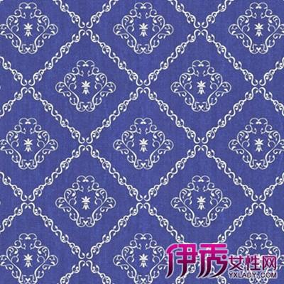 【欧式蓝色大花纹墙纸】【图】欧式蓝色大花纹墙纸