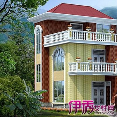 【农村房屋外观装修颜色效果图】【图】农村房屋外观