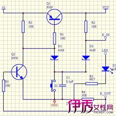 【单键开关电源电路图】【图】单键开关电源电路图