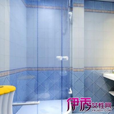 欧式蓝色卫生间装修效果图