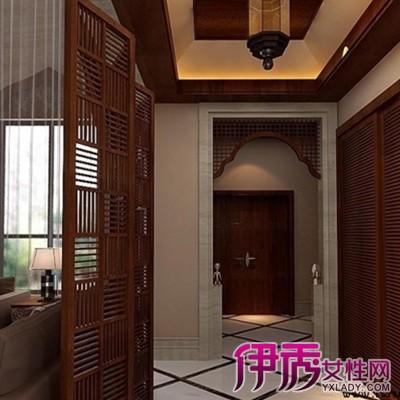 【图】欣赏咖啡色木条吊顶图片 运用多种材料吊顶打造完美家居