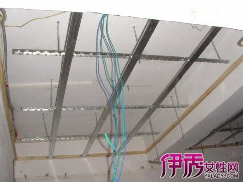 吊顶内电线安装 电线导管敷设技术记录