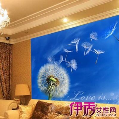 【蓝色调电视背景墙纸图片】【图】展示蓝色调电视