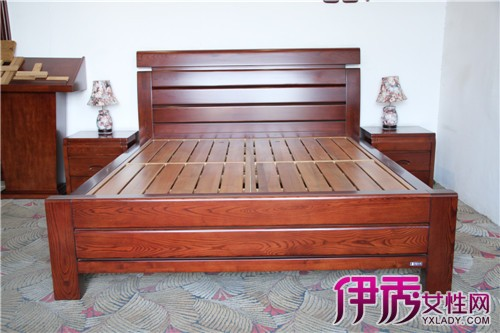 仿古实木床图片大全 实木床挑选技巧你知多少