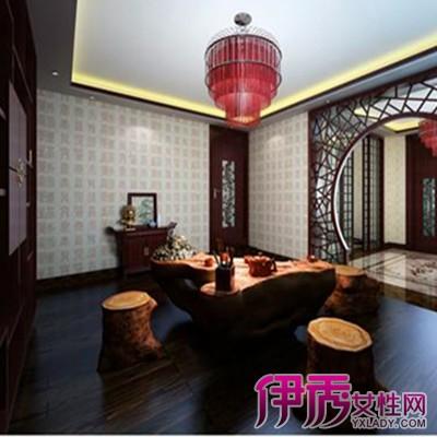 【新中式茶厅效果图】【图】新中式茶厅效果图欣赏