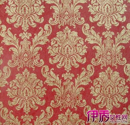 【欧式红色墙纸贴图】【图】欧式红色墙纸贴图大全