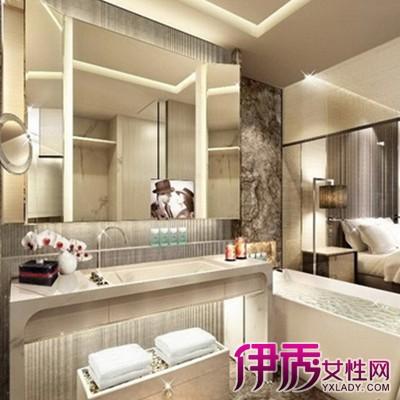 【圖】展示五星級酒店客房洗手間裝修效果圖 3種風格打造美洗手間