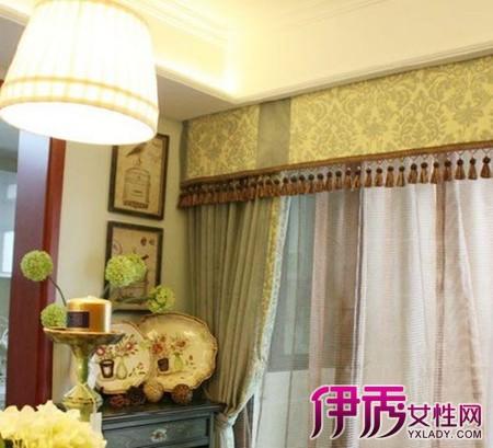 【图】飘窗窗帘帘头款式图片欣赏 带你走入飘窗窗帘的世界