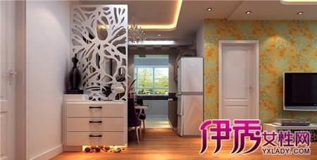 【图】沙发背后隔断柜子造型效果图欣赏 柜子隔断的作用你都知道吗