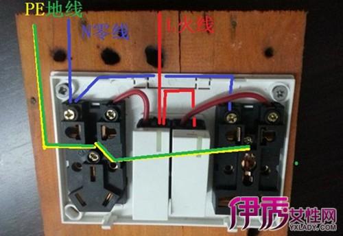 【图】家用插座接线图大全