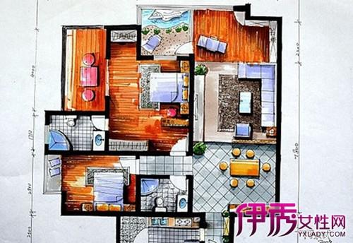 手绘平面图的步骤-室内手绘平面图教程_画建筑平面图的步骤_简易房子
