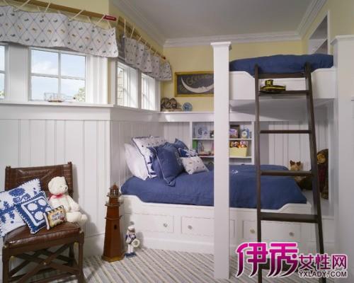 【图】高床床装修效果图 精美高低床装修让你大饱眼福