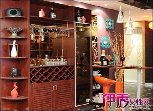 装修效果图 10款客厅餐厅厨房酒柜隔断设计图片5 秀