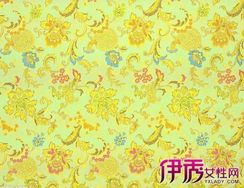 【图】欣赏金黄色中式布料贴图 巧妙应用彰显你独特的风格