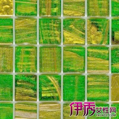 【带绿色花纹地砖铺设效果图】【图】带绿色花纹地砖