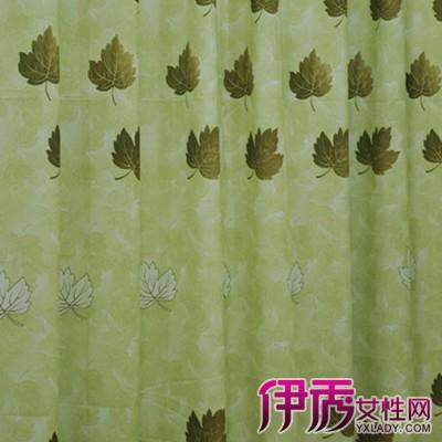 【图】欣赏青绿色窗帘效果图