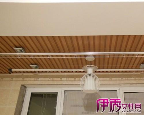 【客厅阳台生态木吊顶图片】【图】客厅阳台生态木