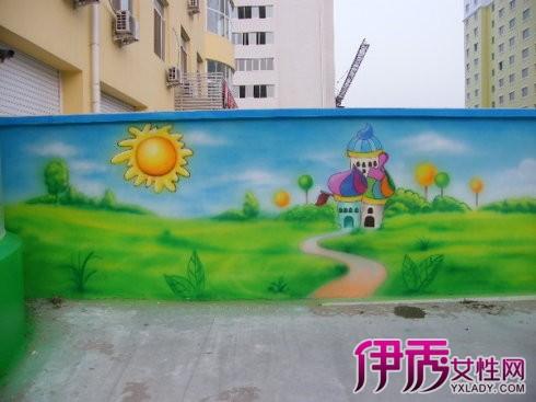 【图】幼儿园外墙彩绘图片欣赏 教你绘图几个小方法