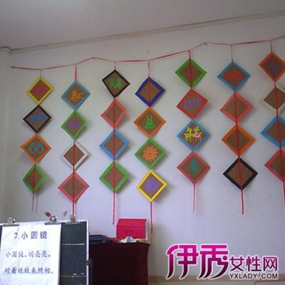 【幼儿园墙面边框装饰】【图】展示幼儿园墙面边框