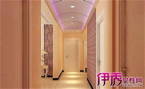 【图】美美的走道吊顶装修效果图 4款走廊吊灯装饰效果图