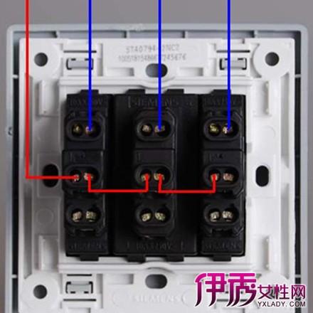【图】三开双控开关接线图大全 三开双控开会安装方法