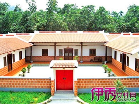農村五間房屋設計圖及效果圖_北方農村平房小院圖片