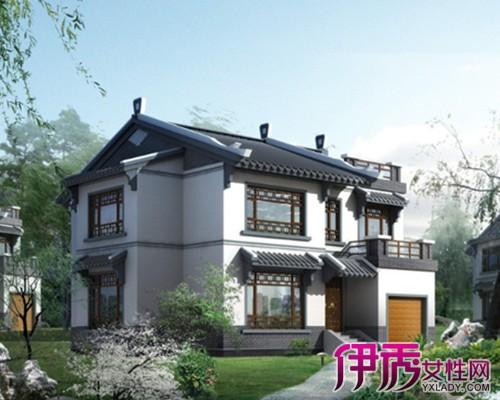 【图】别墅屋顶效果图欣赏 复古风情的中式别墅值得品味