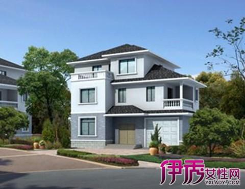 【别墅半二层设计图】【图】农村别墅半二层设建平价别墅图片