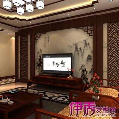 中式客厅电视背景墙用什么材料好
