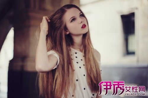 可爱外国小女孩意境