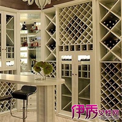 【图】家庭酒柜装修效果图展示 家庭酒柜设计风格与注意事项